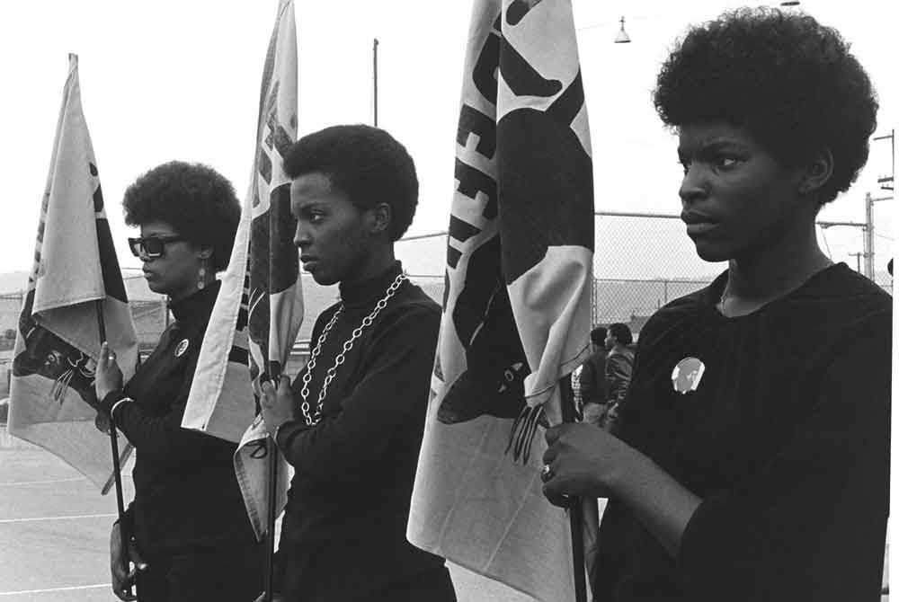 Black Panthers flags