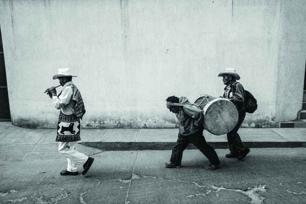 """This photo from Guatemala is from """"Music on the Road,"""" a photography collection by Vassilis Koltoukis featuring street musicians from dozens of countries."""