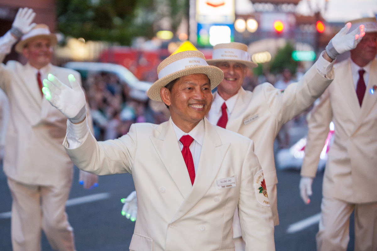 Kilong Ung in Starlight Parade