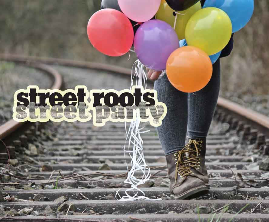 Street Roots Street Party