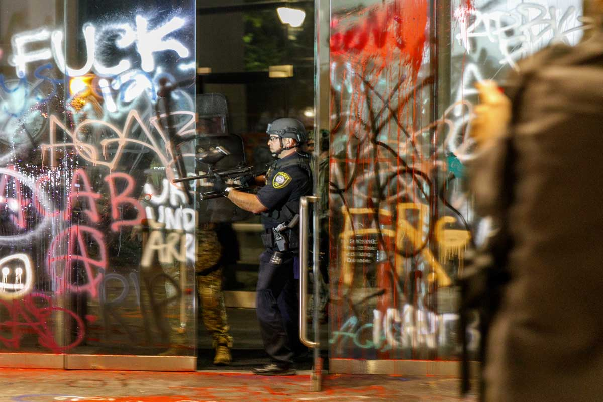 Photos | The concerning progression of police response to Portland protests  | Street Roots