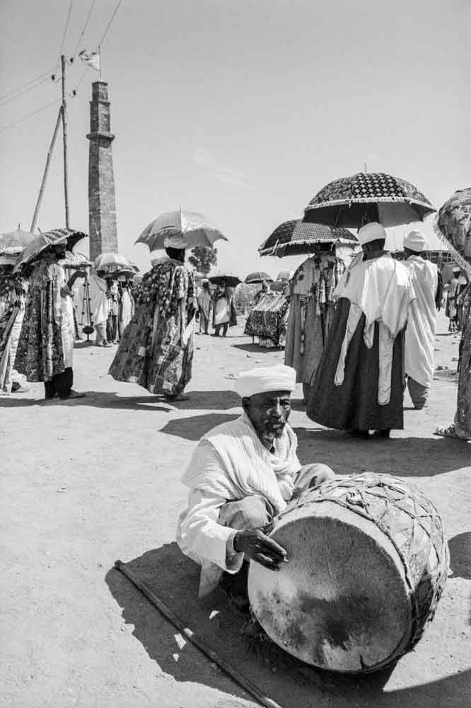 """This photo from Ethiopia is from """"Music on the Road,"""" a photography collection by Vassilis Koltoukis featuring street musicians from dozens of countries."""