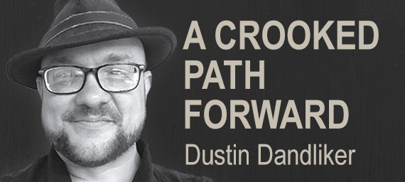 Series logo: A Crooked Path Forward by Dustin Dandliker