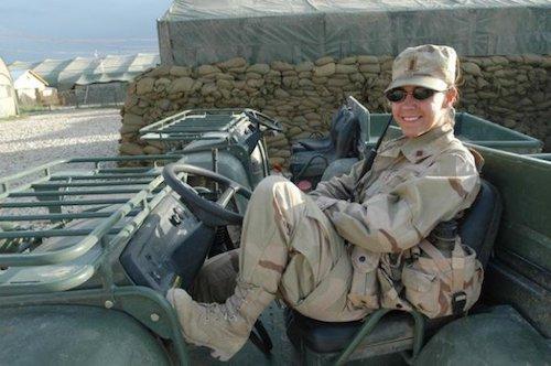 Afghanistan and Iraq War veteran A.D.