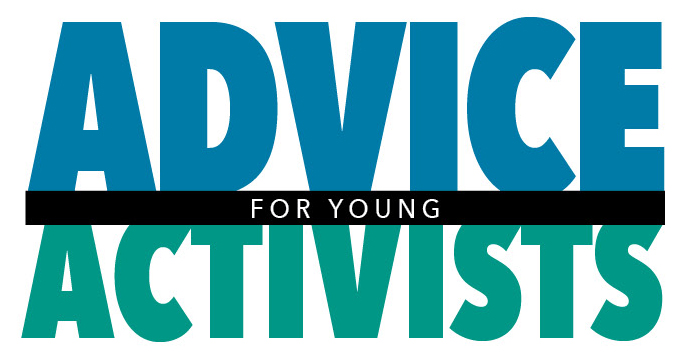 Logo: Advice For Young Activists