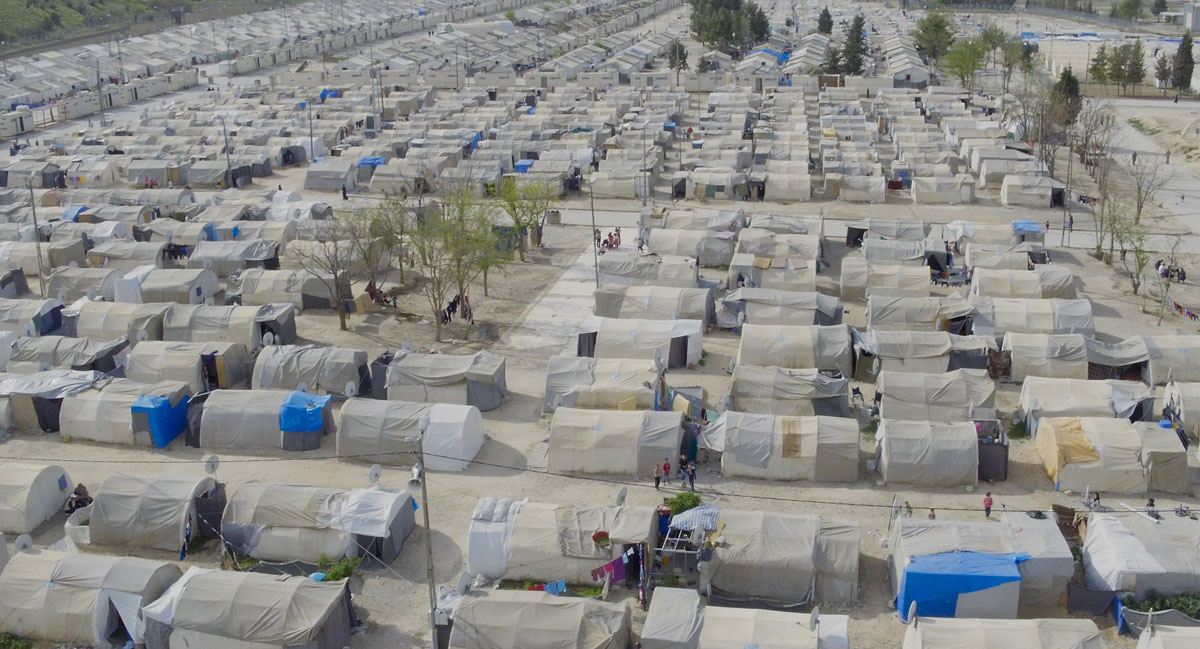 Refugee camp in Turkey