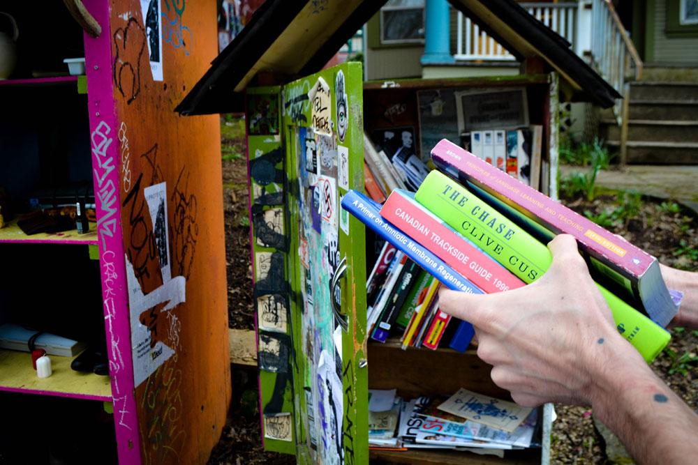Books at Alberta Free Hutch