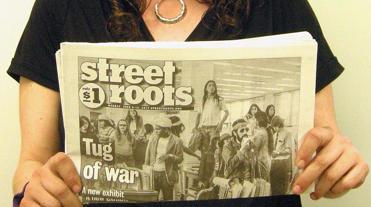 Street Roots vendor Amy