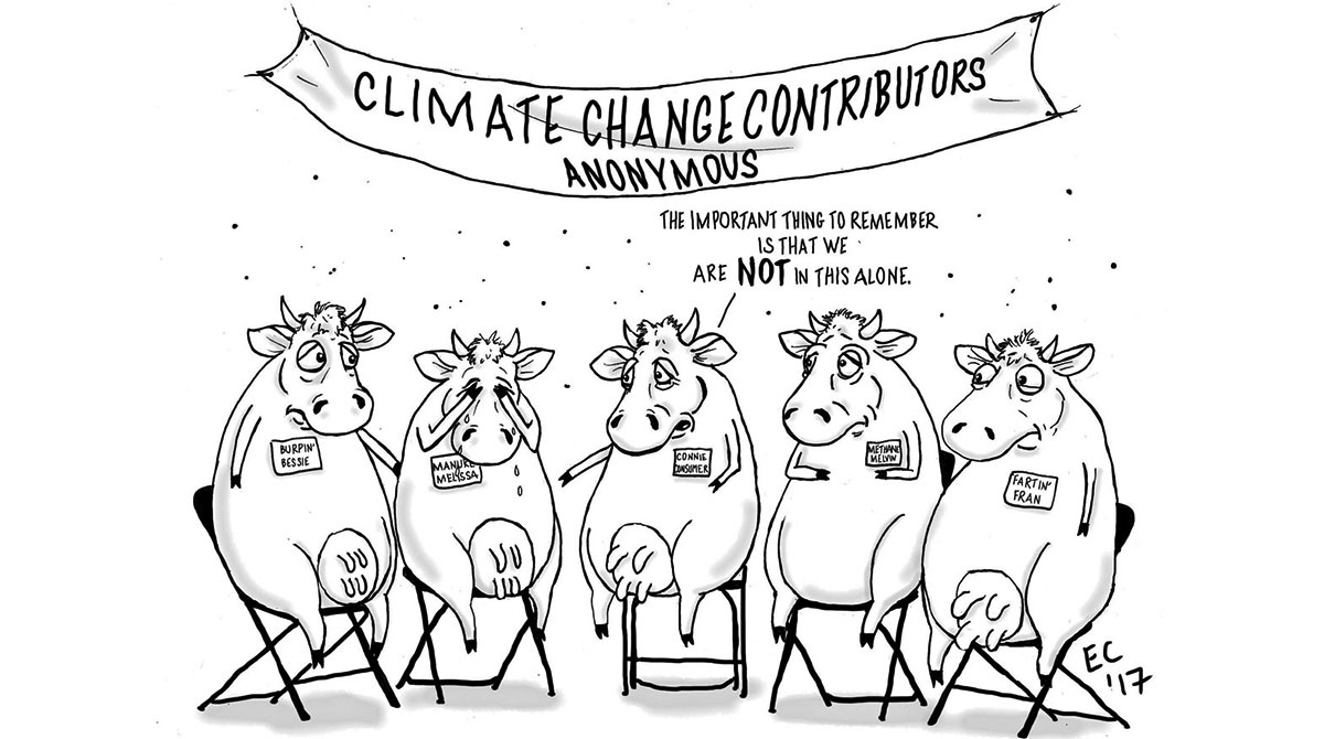 Sheeptoast editorial cartoon: CCCA Meeting
