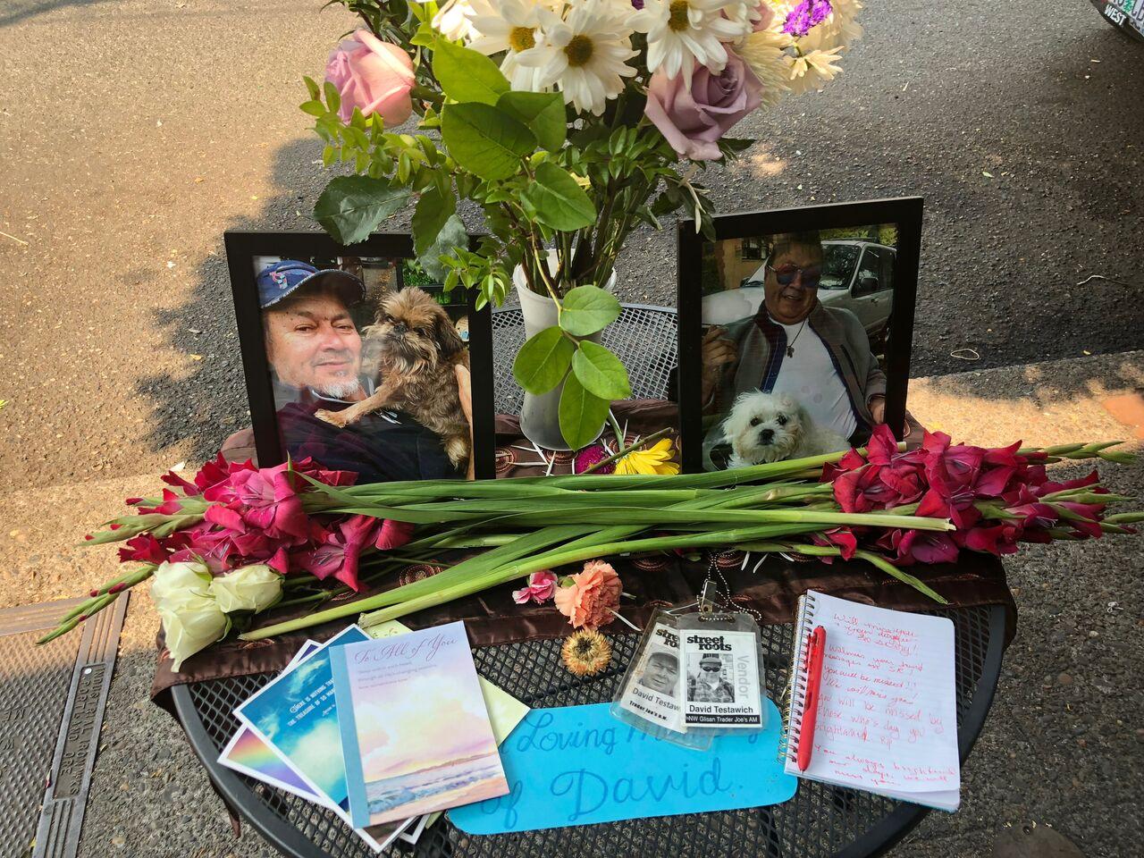 David Testawich memorial