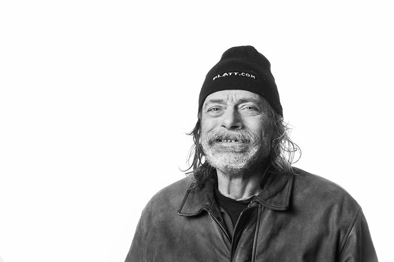 Street Roots vendor Dennis Sigman