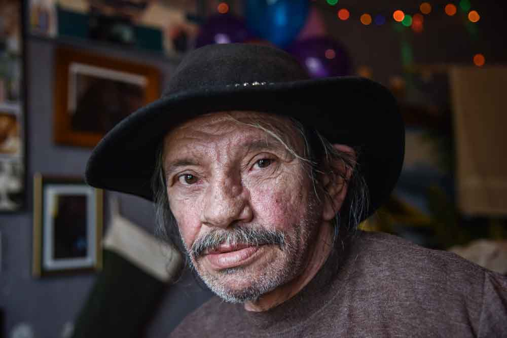 George Luis, 60: Father's Day in Old Town