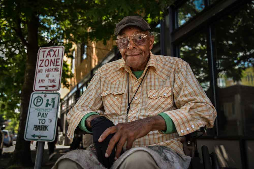 Eric Thomas, 78: Father's Day in Old Town