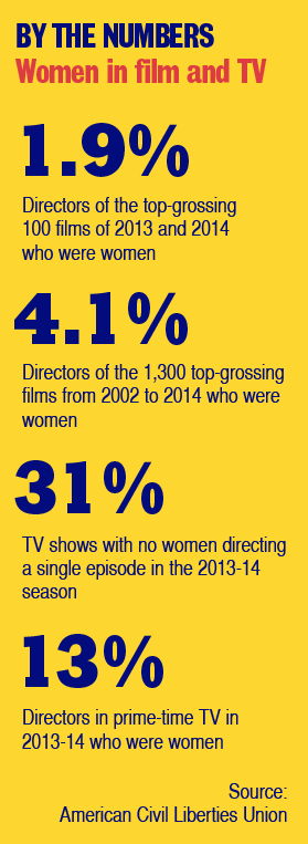 Graphic: Women in film and TV, by the numbers