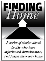 Finding Home series logo