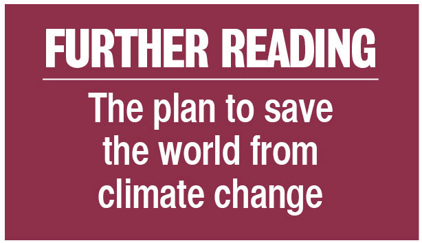 Further reading: The plan to save the world from climate change