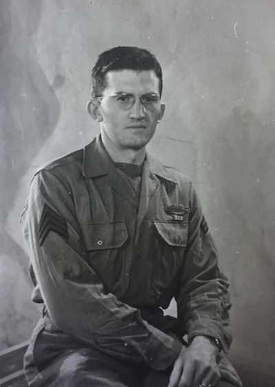 World War II veteran G.M.D.
