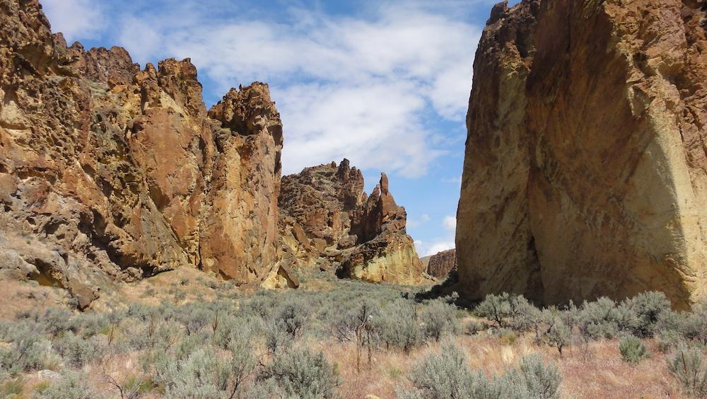 Leslie Gulch in Owyhee Canyonland