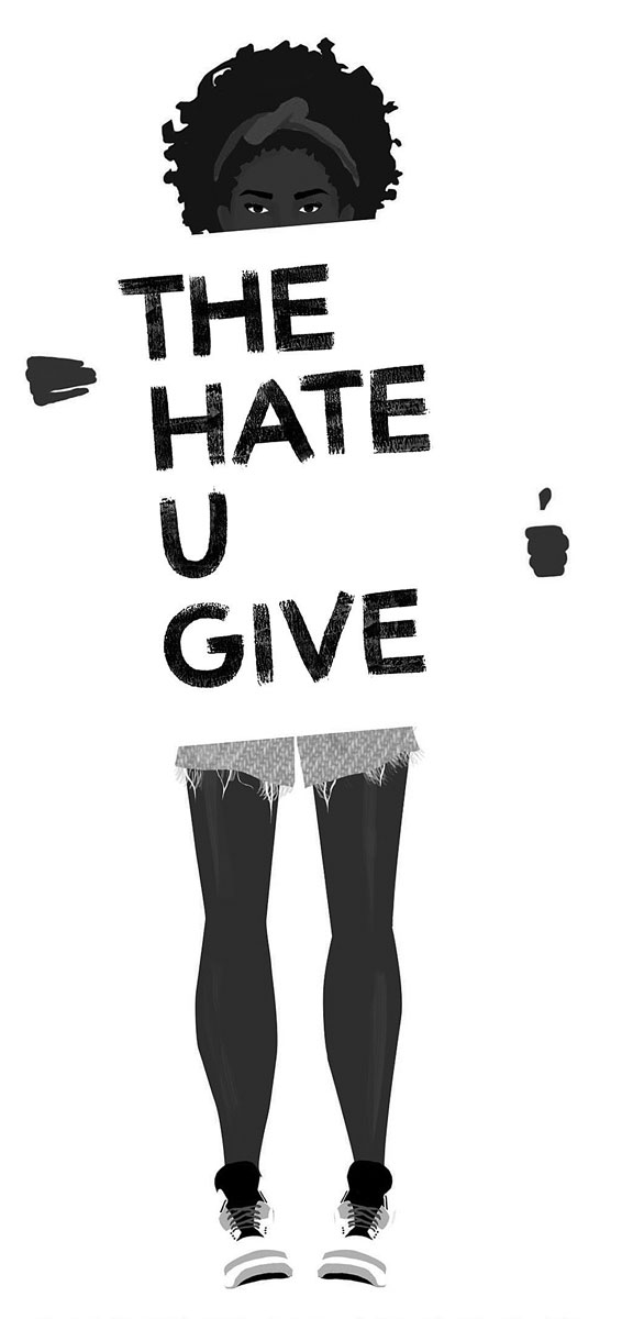 """The Hate U Give"" cover art"