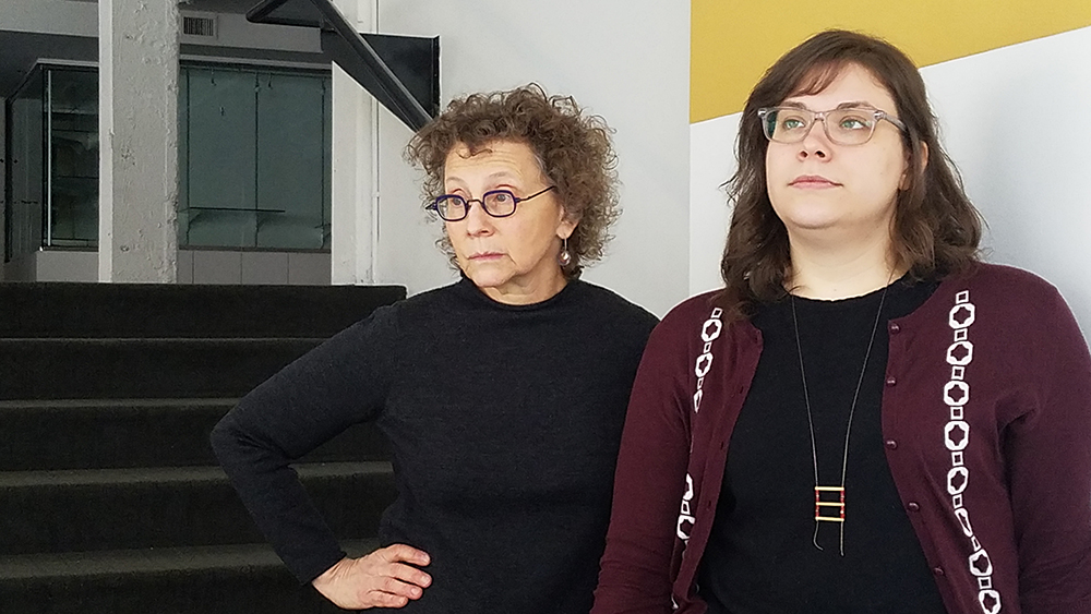 Judith Margles and April Slabosheski