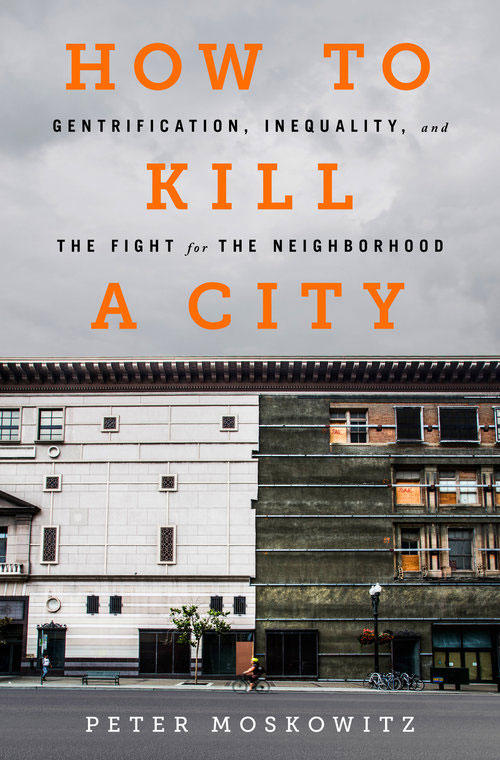 """How to Kill a City"" book cover"