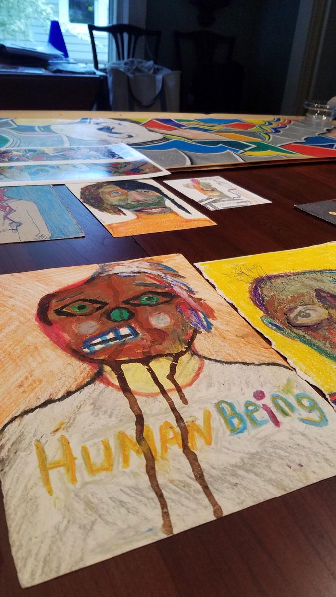 David Slader's inmate art show