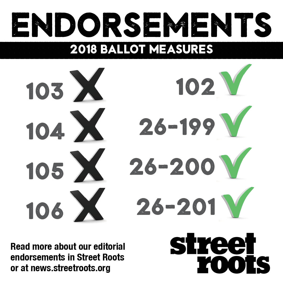 2018 editorial endorsements for state and local ballot measures
