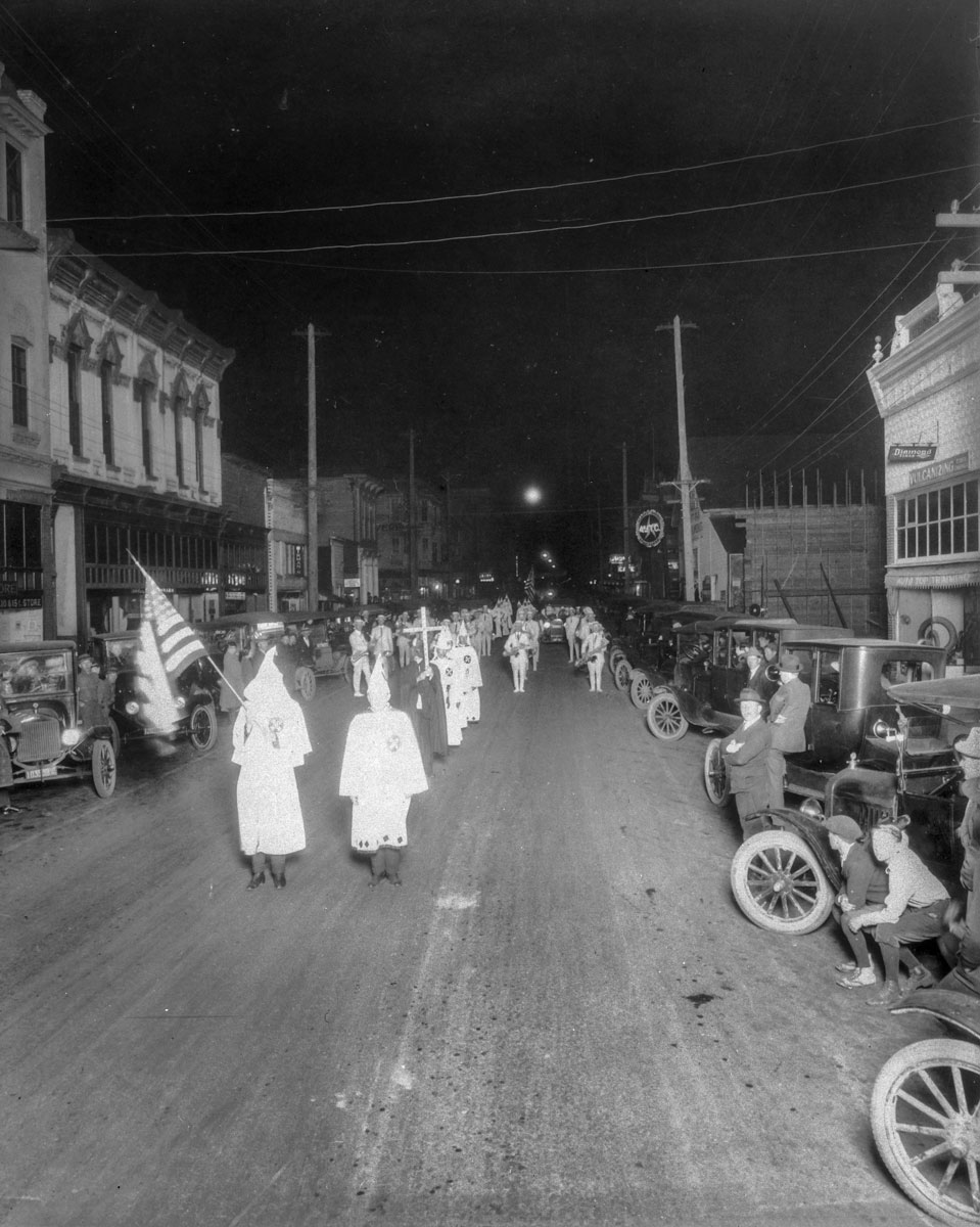 KKK in Albany, Oregon, in 1923