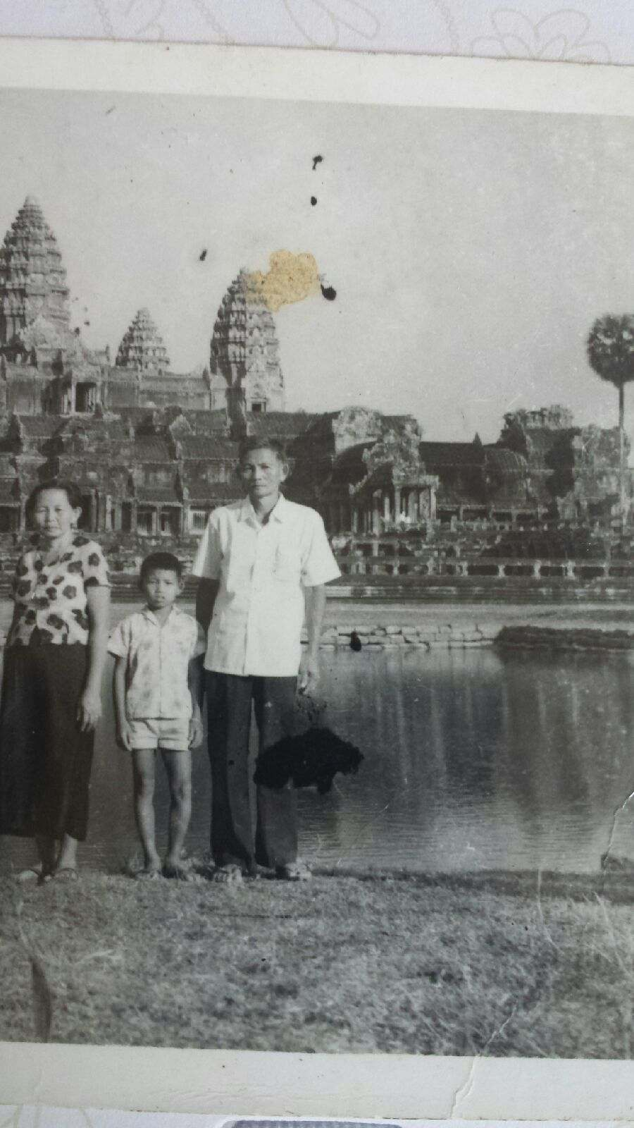 Kilong Ung and his father