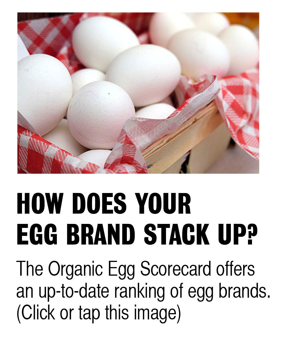 Click or tap this image to see how organic egg brands compare.