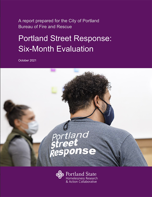 6-month evaluation of Portland Street Response