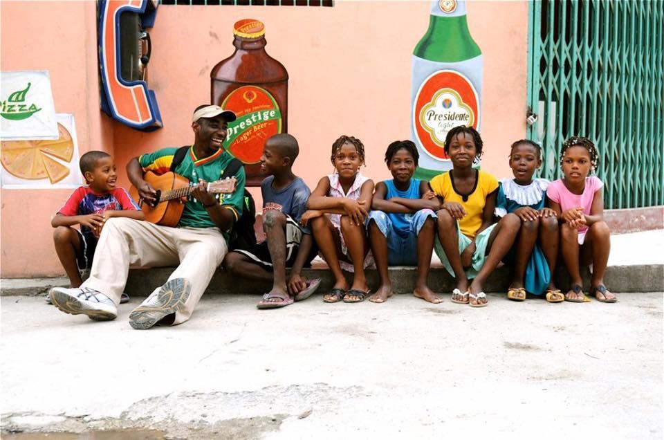 Parfait Bassale in Haiti