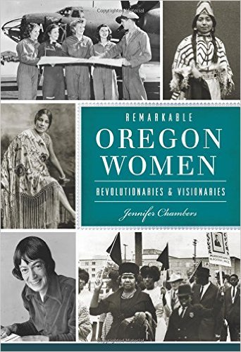 """Remarkable Oregon Women"" book cover"