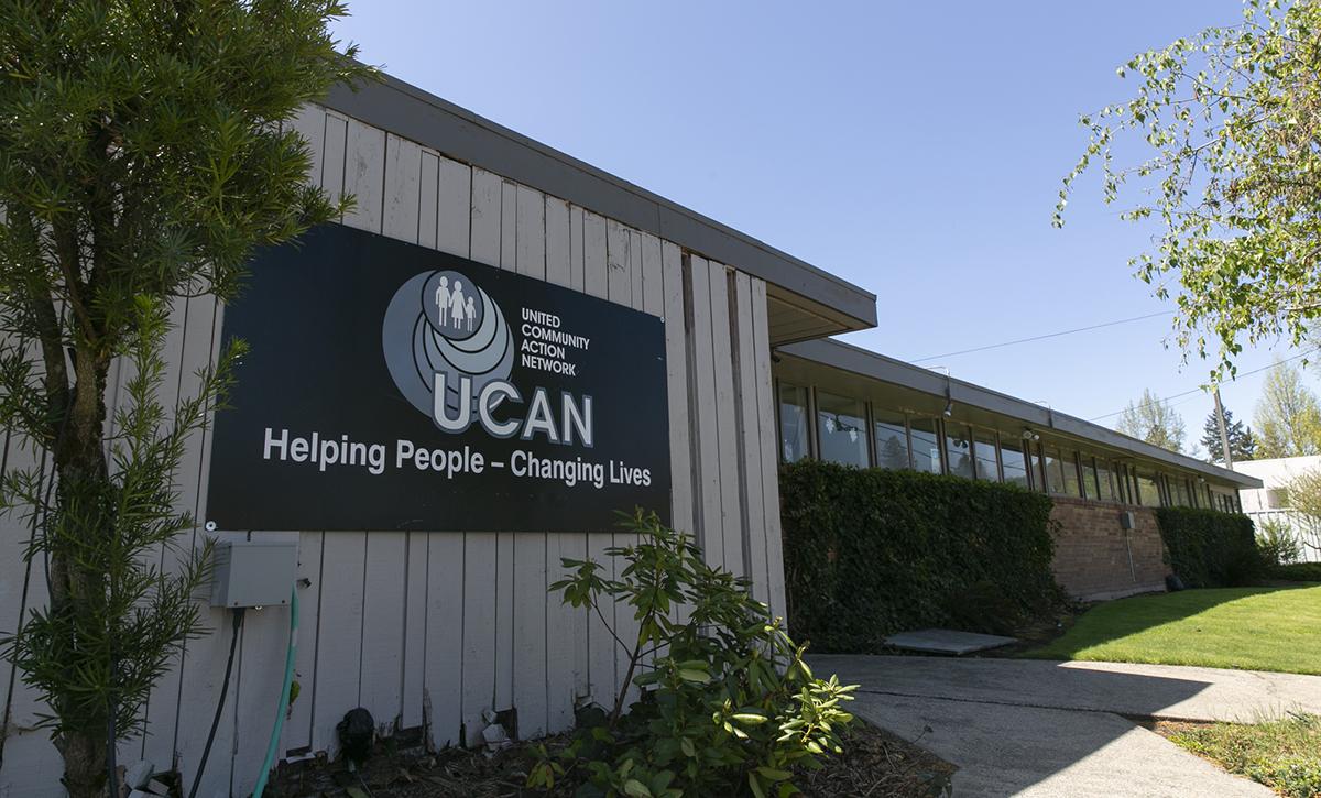Exterior of UCAN building