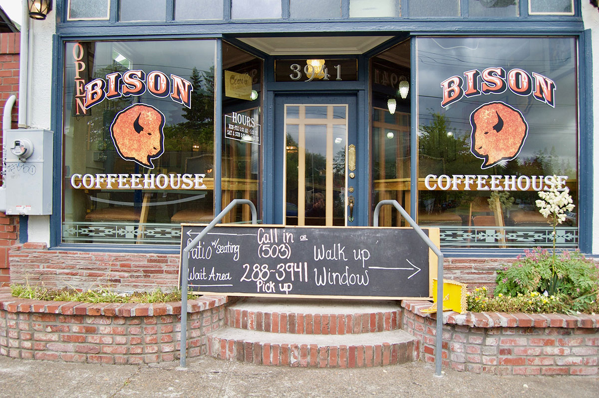 Bison Coffeehouse exterior