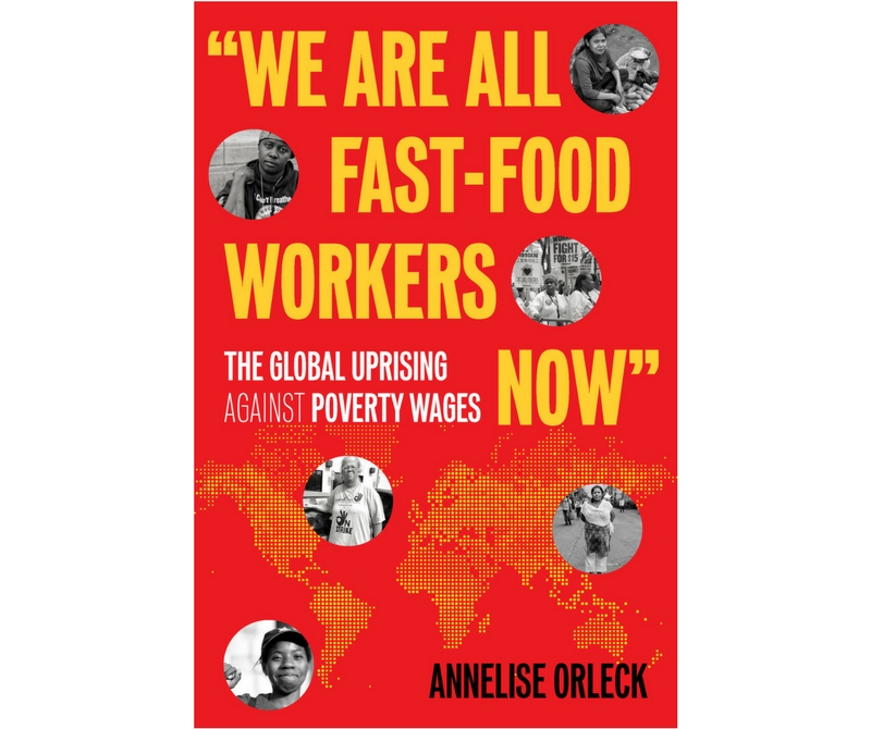 "Book cover: ""We Are All Fast-Food Workers Now"""