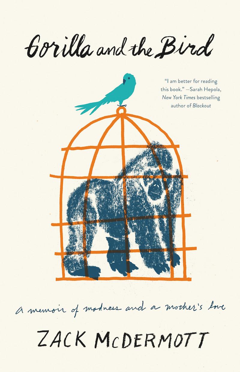 """Gorilla and the Bird"" book cover"