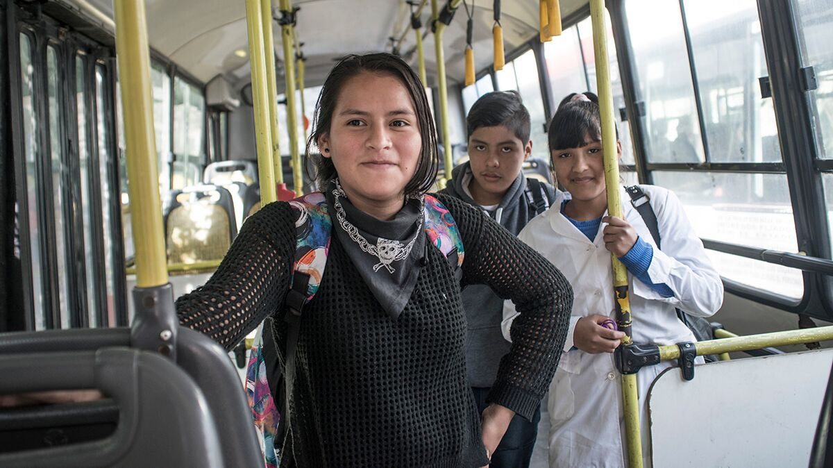 La Domitila bus