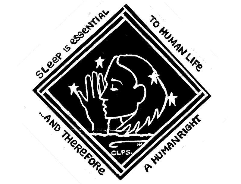 Right 2 Sleep campaign logo
