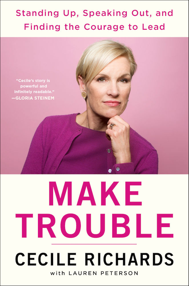 """Make Trouble"" book cover"