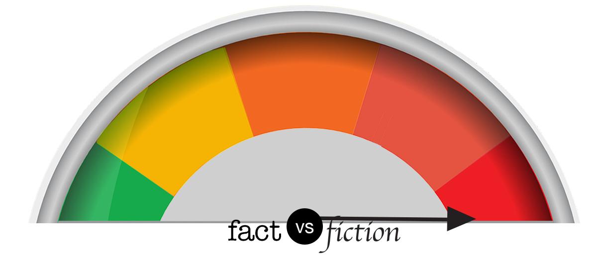 Fact vs. fiction meter: Fiction