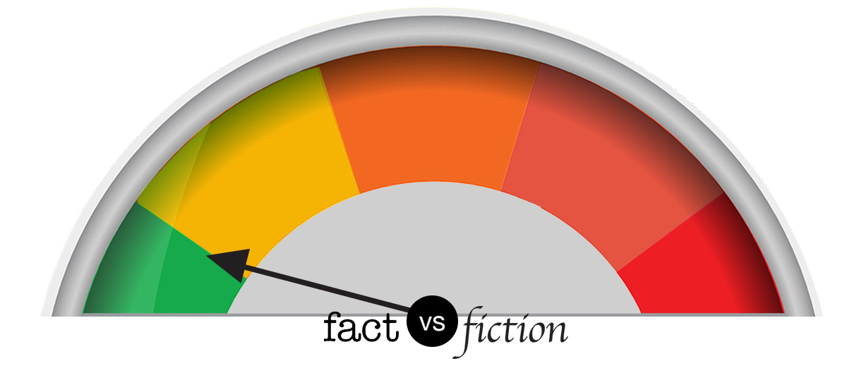 Fact vs. fiction meter: Mostly fact