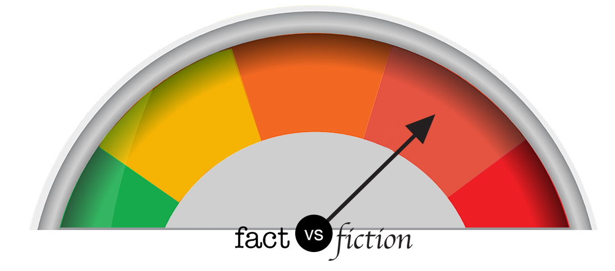 Fact vs. fiction meter: Unlikely