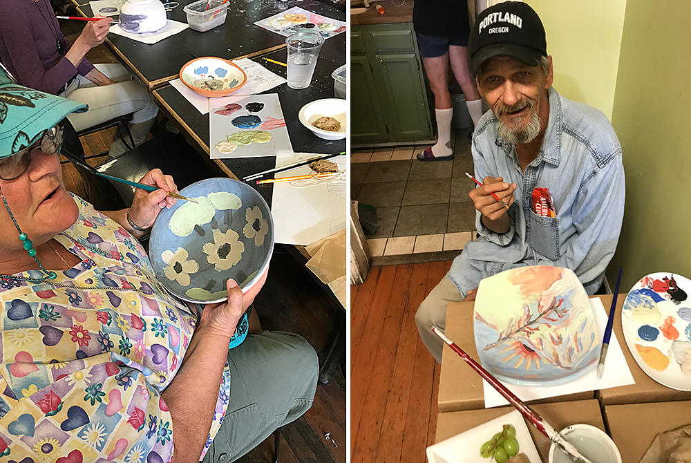 Gather:Make:Shelter pottery