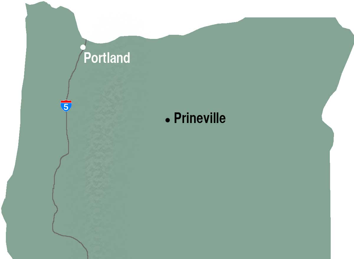 Prineville map
