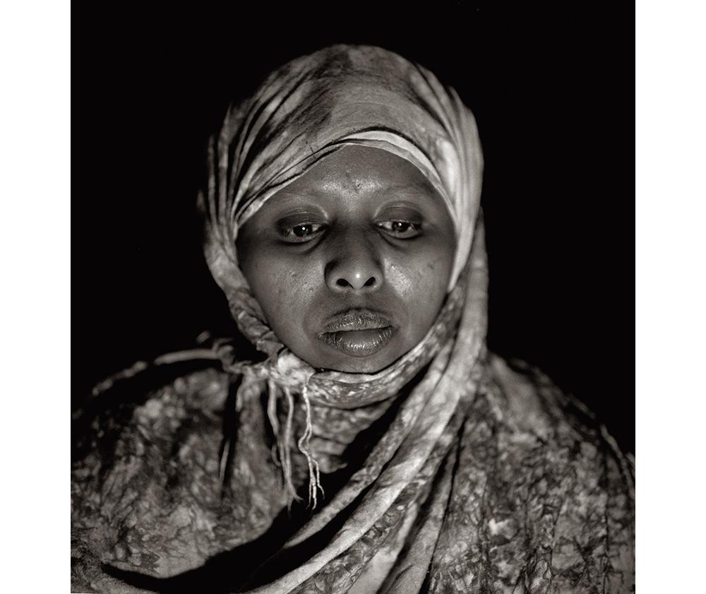 Seynab Azir Wardeeren portrait by Fazal Sheikh