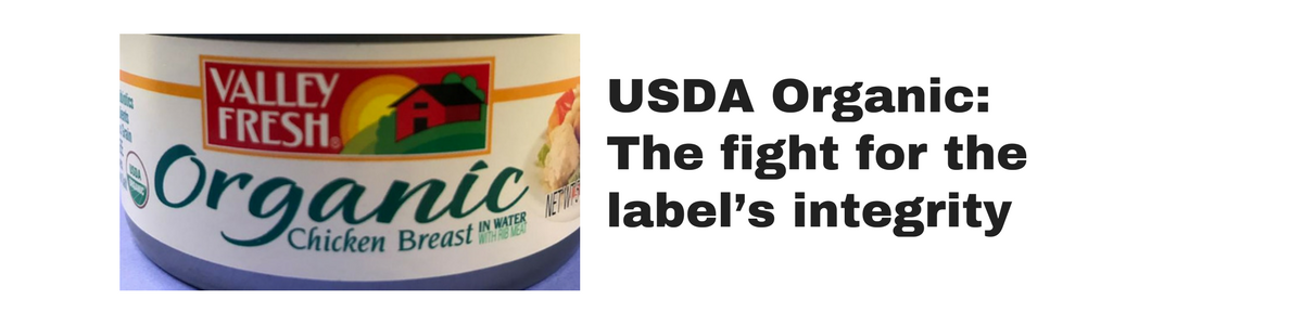 USDA Organic: The fight for the label's integrity (click or tap for the article)