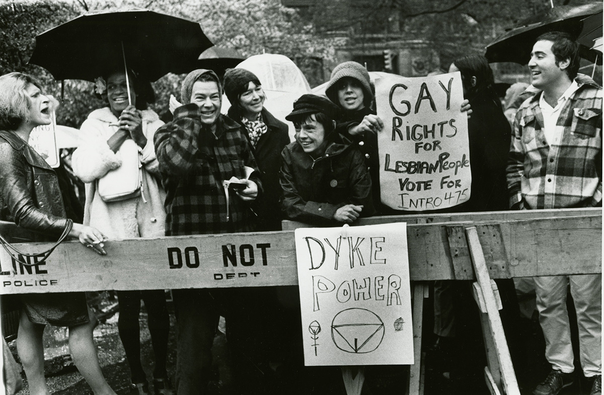 1973 gay rights demonstration
