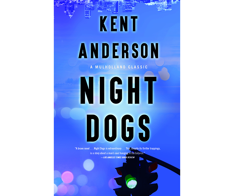 """""""Night Dogs"""" book cover"""
