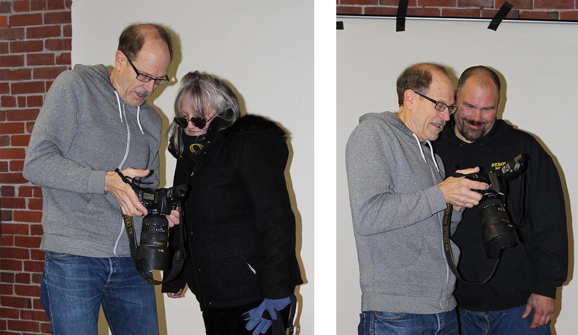 Alan Borrud, Asonya Hargett, Randy Humphries
